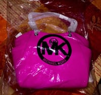 Sac à main Michael Kors rose fuchsia Chilly-Mazarin, 91380