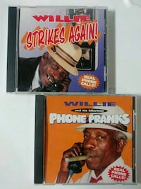 Autographed Willies Phone Pranks and Willie Strike