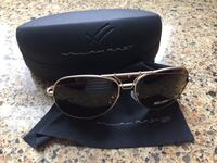 William Rast Aviator Sunglasses 363 mi