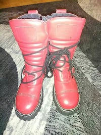 Brand new steel toe leather boots
