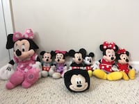 Lot of Minnie and Mickey Mouse