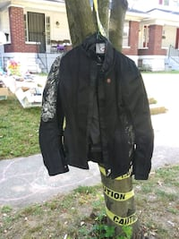 2 motor cycle jackets and one helmet Louisville, 40215