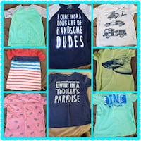 Boys size 5 tshirts  Centreville, 20120