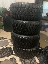 (4) 33x12.50r20 LT All country barely used. Baltimore, 21215