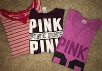 Victoria secret women's size large Lot of 3 shirts all in great condition Puyallup, 98375