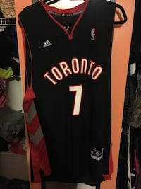 Men's Brand New with Tags XL Lowry Raptors Basketball Jersey Acton, L7J 2N4