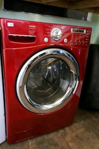 LG CHERRY RED WASHER AND GAS DRYER  Long Beach, 90815