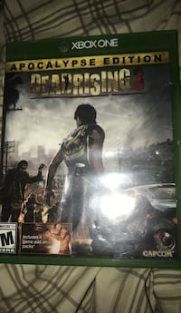 Xbox one deadrising 3 game case Morristown, 07960