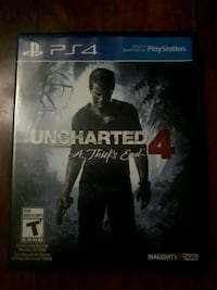 PS4: Uncharted 4 (Mint Condition) Dartmouth, B2X 2M1