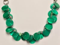 beaded green necklace Palm Springs, 92264