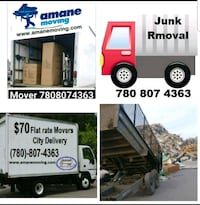 Moving and junk removal . Contracting   Edmonton