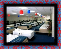 Full mattress plush with box spring Mount Rainier, 20712