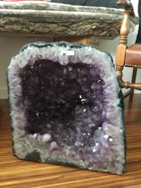 Amethyst Geode from Brazil, weighing 58.7kg VANCOUVER
