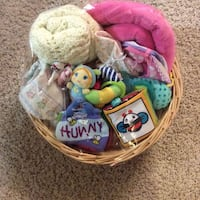 MASSIVE BEAUTIFUL BABY GIRL GIFT BASKET Langford, V9B 4B1