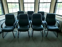 (7) Leather Chairs for $75 each Greenbelt, 20770