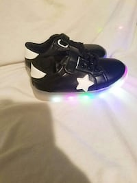 black-and-white led light-up low top sneakers Denham Springs, 70726