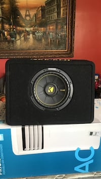 """10"""" kicker subwoofer with enclosure"""