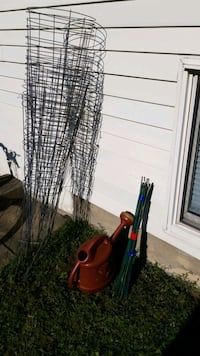 Plant cages and bamboo stick and water jug Welland, L3C 5K1