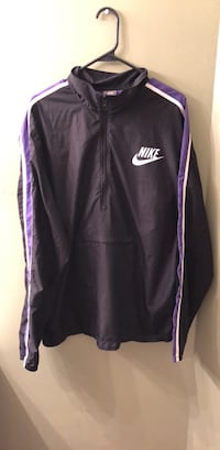 Purple and white Nike XL zip-up jacket Manassas, 20110