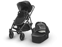 Uppababy vista 2017 With bassinet and Mesa infant car seat/base 546 km