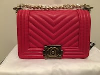 red leather Chanel long wallet Sherwood Park, T8A