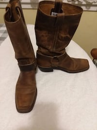 Womens Harness Boots