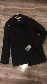 black button-up long-sleeved shirt Humber Arm South, A0L