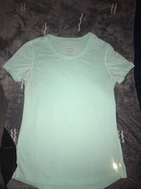 light blue scoop neck short sleeve shirt El Centro