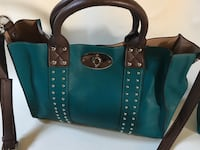 Charming Charlie new Turquoise Purse