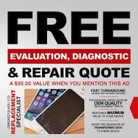 Free diagnostic- phones and tablets College Park