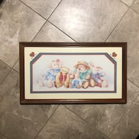 Teddy Bears and Bunnies Framed Picture  Whitehall, 43213