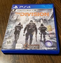 The Division PS4 game  Hagerstown, 21740