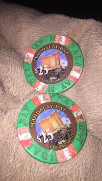 $50 Mandalay Bay chips Las Vegas, 89131
