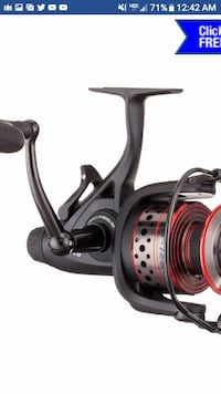 Penn reel fierce ll brand new paid $90 Newark