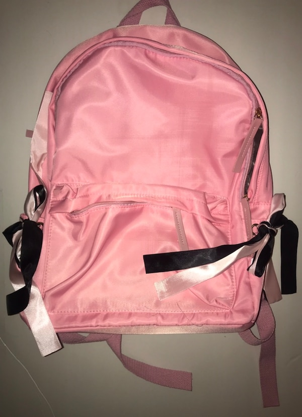 Used Pink satin backpack for sale in Chicago - letgo 8567163d07e2b