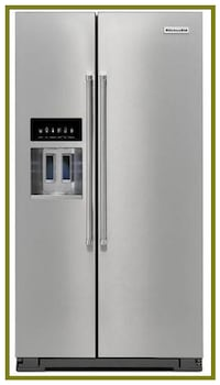 Scratch And Dent KitchenAid Side-by-Side Refrigerator KRSF505ESS
