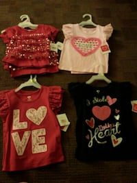 8 size T3 and one T2 all for $15 or one for $2