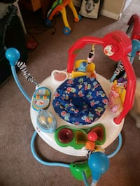 baby's white and blue jumperoo Newport News, 23608