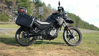 black and gray touring motorcycle 47 km