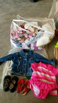 Toddler girl clothing,  over 60 pieces  South Bend, 46601