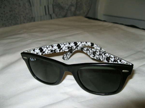 e2f819fe34239 Used Rare Print Special Series Ray Ban Disney Mickey Mo for sale in ...