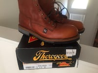 Brown leather thorogoog work boots Dallas, 30157