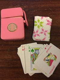 Lilly Pulitzer playing cards  New York, 10011