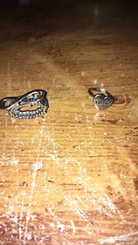 two silver-colored rings 603 mi