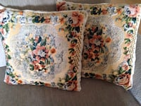 Vintage pillows 17x17 Toronto, M8Y
