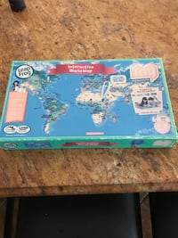Leap Frog Interactive World Map