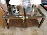 Set of 2 end tables only