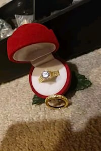 gold plated ring set  Surrey, V3X 1P3