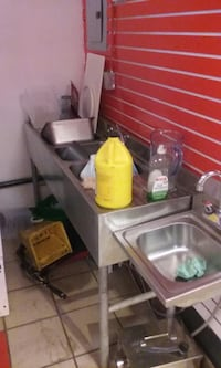 Resturant 3 sink for sell