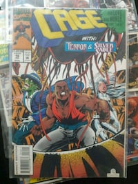 Comic book Luke cage